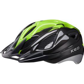 KED Tronus casco per bici verde/nero